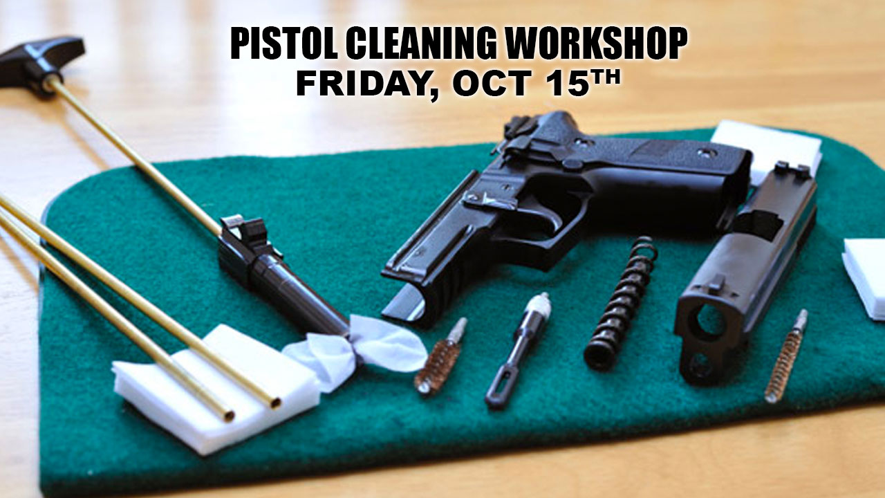 Pistol Cleaning Workshop in Charlotte, NC